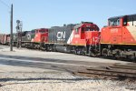 CN 8919, IC 9636, CN 2154 & CN 2258 - Canadian National